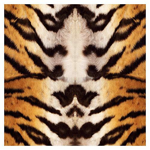 murando Vlies Tapete Deko Panel Fototapete Wanddeko 10 m Tapetenrolle Mustertapete Wandtapete modern design Dekoration - Tiere Pelzmuster Tiermotiv Tigermuster Tigerfell f-A-0109-j-a