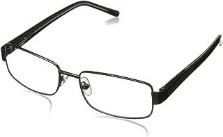 Foster Grant Wes Men's Multifocus Glasses, Gunmetal, 1.75