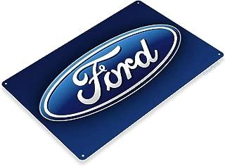 "Tinworld TIN Sign ""Ford Logo"" Metal Decor Parts Motors Store Auto Shop Garage Cave A376"