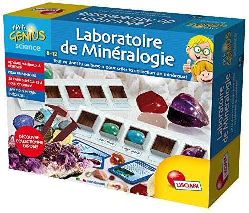 Lisciani-Lisciani-FR59454-Jeu Educatif-Laboratoire de Minéralogie, FR59454