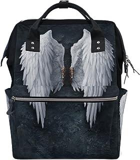 8ac79cf33b imobaby Broken Angel Wings Changing Bags Large Capacity Handbags Canvas  Shoulder Bag Backpack