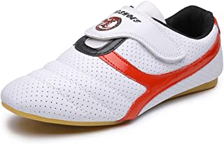 MSMAX Unisex Sport Boxing Karate Shoes Arts Taekwondo Sneakers Kung Fu Tai Chi Shoes for Adult and Kids
