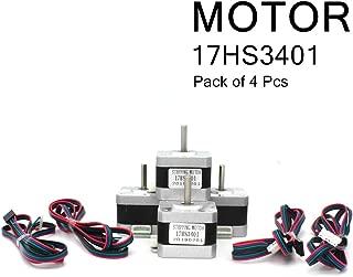 4-Piece Nema17 Stepper Motor High Torque Bipolar Dc Stepper Motor