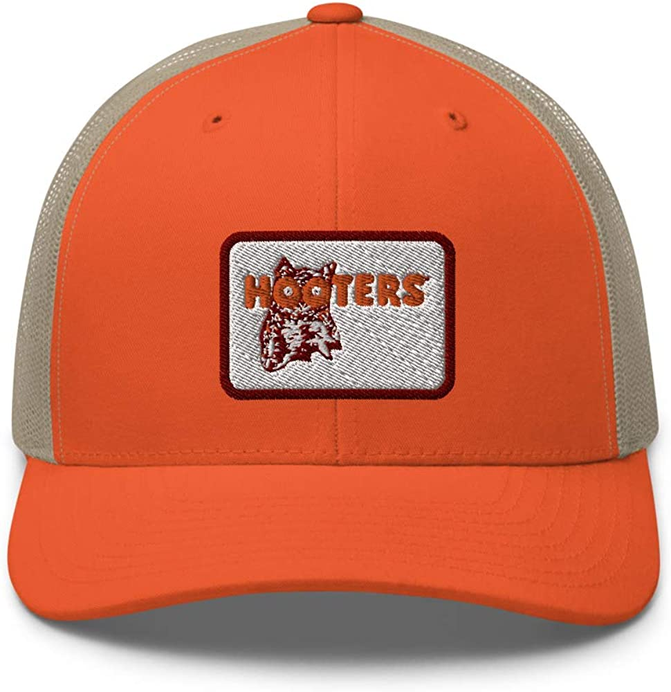 Ripple Junction Hooters Rectangle Logo Trucker Cap