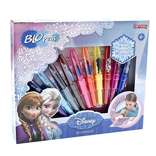 Giochi Preziosi BLP04000 - Kit BLO Pens Frozen Activity, 10 Pezzi