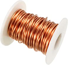 uxcell 1.5mm Dia Magnet Wire Enameled Copper Wire Winding Coil 32.8ft Length Widely Used for Transformers Inductors
