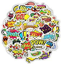 Pop Doodle Stickers Personality Creative Stickers Car Guitar Skateboard Motorcycle Bumper Luggage Decal Graffiti Patches, 50pcs