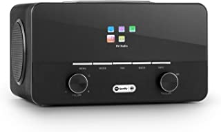 auna Connect 150 BK • 2.1 Internet Radio • Wi-Fi Music Player • DAB / DAB+ • Alarm Clock &#x20...