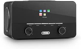 auna Connect 150 Black • 2.1 Internet Radio • Wi-Fi Music Player • MP3 USB Port • AUX • Remote Control • Black