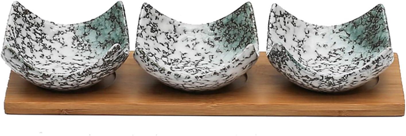 Seasoning Dishes Japanese Style Sauce Dish Dip Max 84% OFF Of Popular brand Set - 3 Bowls