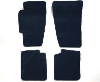 Premier Custom Fit 4-piece Set Carpet Floor Mats for Porsche 911 (Premium Nylon, Navy Blue)