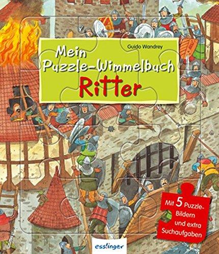 Mein Puzzle-Wimmelbuch: Ritter