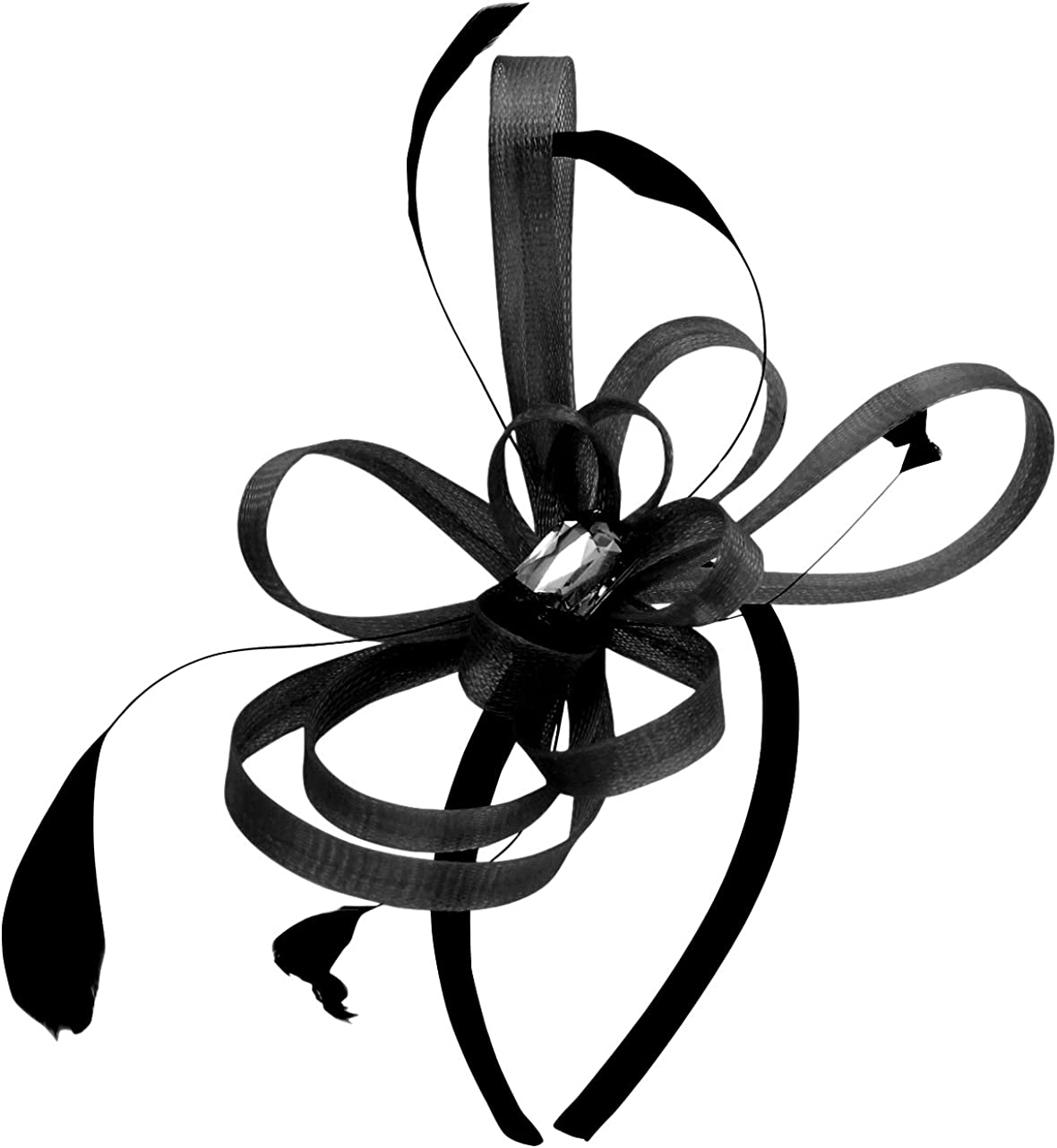 Selling and selling quality assurance Aurora Collection Fascinator with Gem and Loops