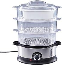 XJJZS Cuiseur à Vapeur Multifonctionnel à la Maison électrique cuiseur à Vapeur de Fruits de mer de Grande capacité à 3 Co...