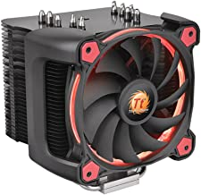 Thermaltake CL-P021-CA12RE-A Ring Silent 12 Pro CPU Cooler and Fan - Red