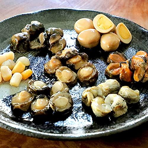 RIMTAE 七宝おつまみ7種14粒(S) ギフト 海鮮 セット 珍味 あわび