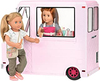 Our Generation Ice Cream Truck for 18 Inch Dolls, Pink