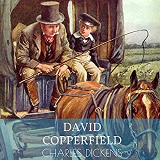 David Copperfield audiobook cover art