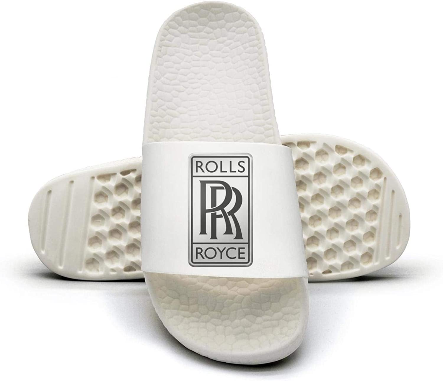 EIGKASL Printed Non-Slip Slippers Slides flip Flop Sandals Rolls-Royce-Logo-Symbol-Emblem-Summer Fashion for Womens