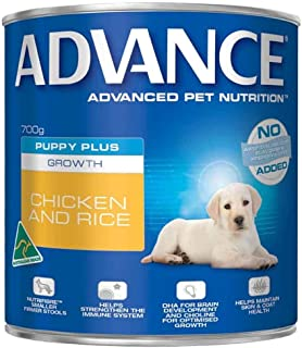 Advance Puppy Chicken and Rice Dog Wet Food, 700 g