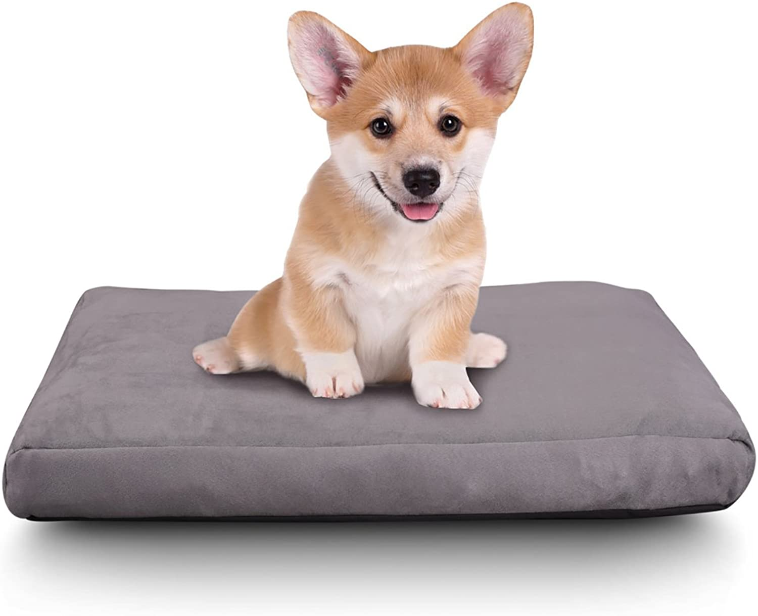 Comfort & Relax Shredded Memory Foam Waterproof Pet Bed for Small Cats Dogs