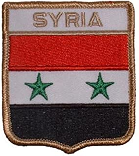 EagleEmblems PM6309 Patch-Syria(盾)(6.35x7.62 cm)