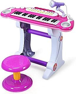 Costzon Electronic Keyboard 37-Key Piano, Musical Piano w/Re