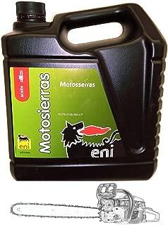 Aceite Eni - Agip Para Motosierras. Cadenas 5L. ( 40 - 50