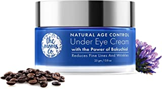 The Moms Co Natural Age Control Under Eye Cream l Reduce Fine Lines, Wrinkles & Dark Circles l Anti Ageing with Natural Re...