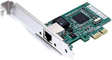 10Gtek® Broadcom BCM5751 Chip Gigabit PCI-e Tarjeta de Red de Escritorio Nic, Tarjeta PCIE