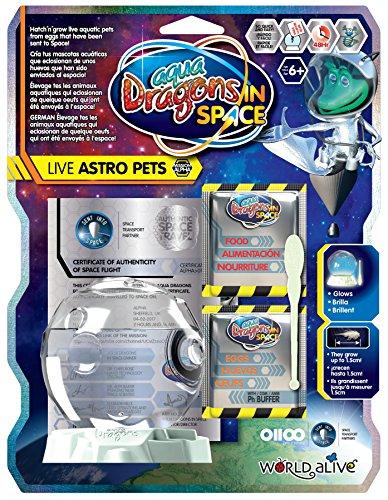 Aqua Dragons- Espacial Juguete Educativo, Multicolor (World Alive 6001)