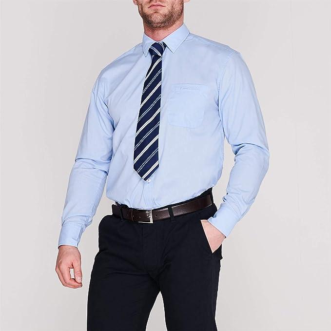 Pierre Cardin Hombre Conjunto De Camisa Formal Y Corbata