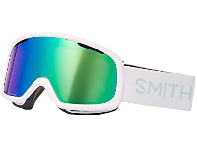 Smith Optics Riot Goggle (White Stratus/ChromaPpo Everyday Green Mirror/Yellow) Snow Goggles