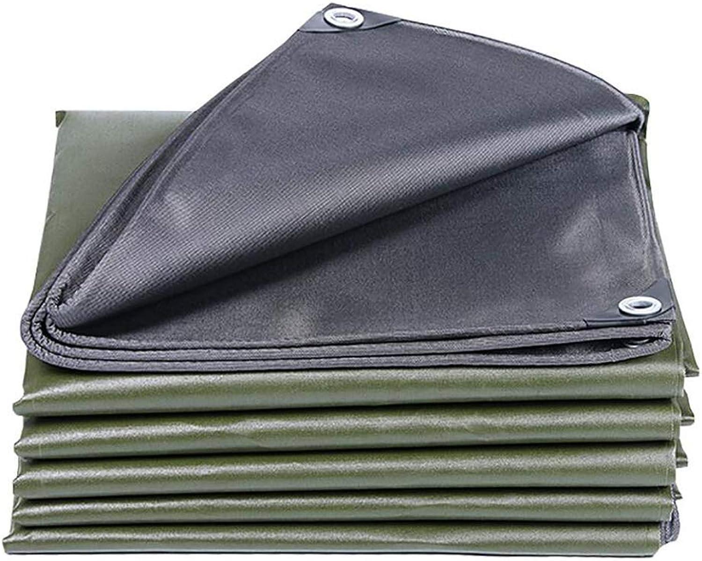 Verdicken Sie Plane Army Grün, wasserdicht und staubdicht Bodenbelag Schuppen Tuch Outdoor Camping Camping Sonnencreme wasserdicht Plane Cover Verdickung 600g   Quadratmeter (größe   4x6m) B07PJT3QM3  Qualität und Verbraucher an erster Stelle