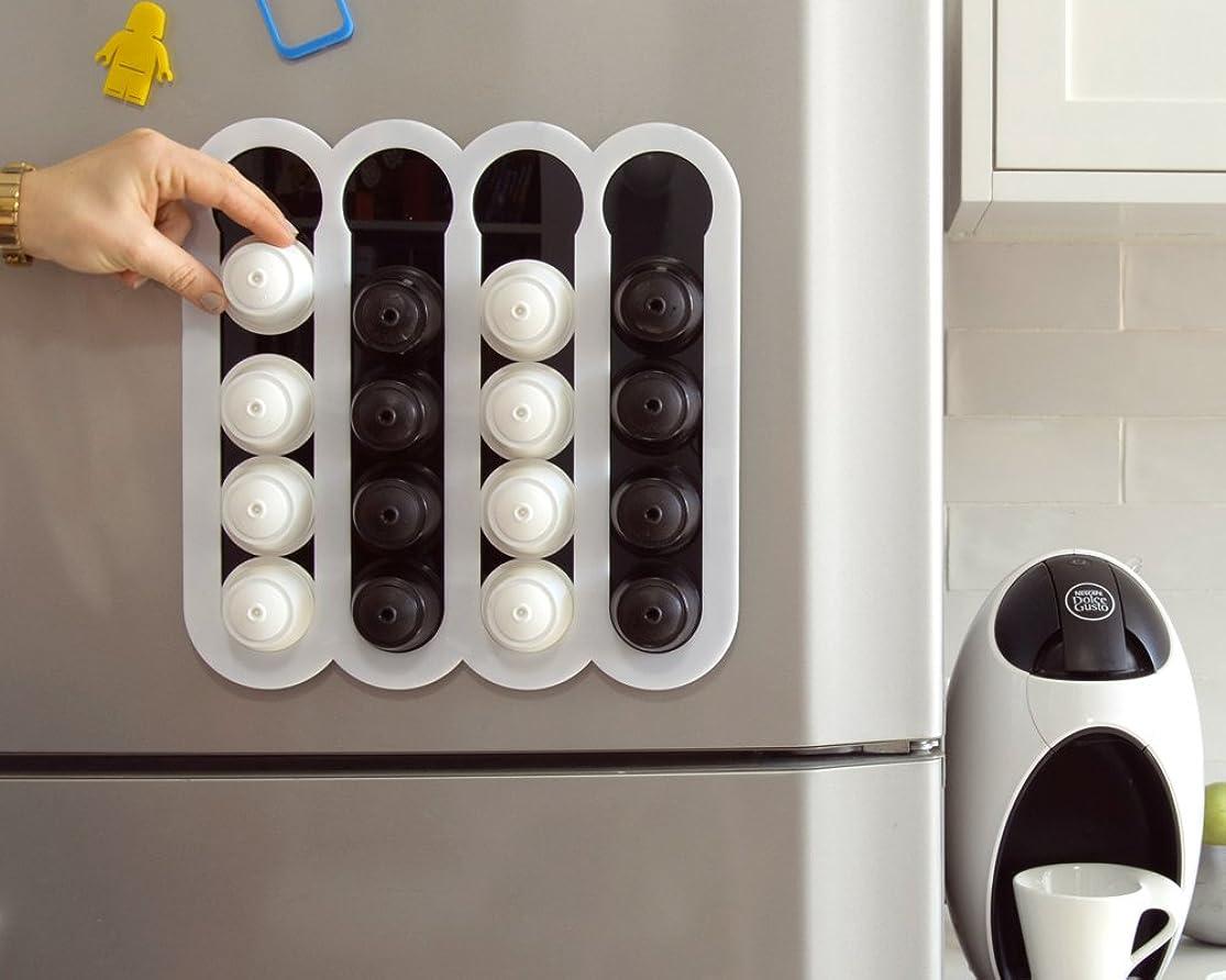 Dolce Gusto Coffee Pod Holder , Coffee Storage ,White Kitchen Organizer Design mybwlkei9