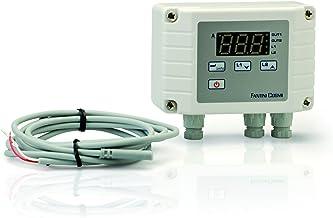 Bianco Fantini Cosmi ZTTSE Testina Termostatica Manuale con Sensore Esterno