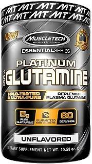 Muscletech Essential Series Platinum 100 Glutamine 5 g 10 58 oz 300 g