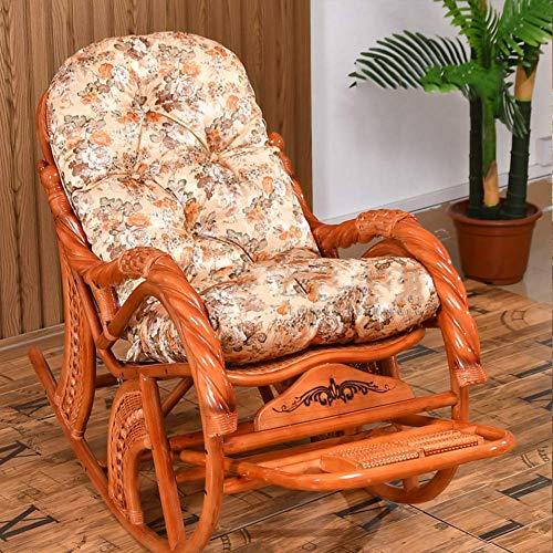 eewopjkj Cojín para Tumbona de Patio cojín de Asiento de jardín Antideslizante con Lazos cojín de sillón reclinable Plegable para Playa jardín Patio Cubierta-I 50x130cm (20x51inch)
