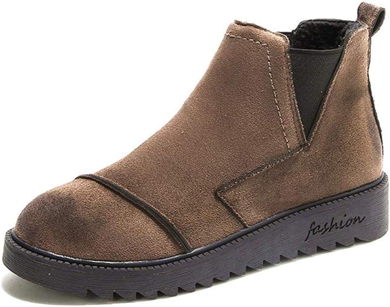 Ladies' Vintage Platform with Ankle Boots