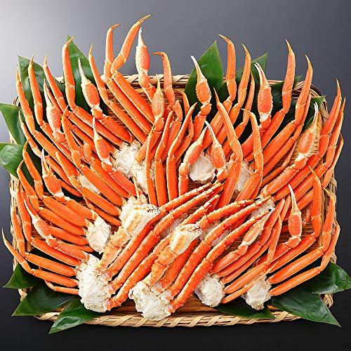 蟹 ハサミ ズワイガニ タラバガニ 食べ比べ 二大蟹 計3.2kg 約8-10人前 年末年始 カニ 北国からの贈り物
