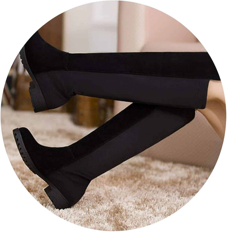 Wesex stövlar ny ny ny Lace Up Knee Corium Boot High klackar Retro  välkommen att köpa