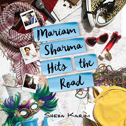 Mariam Sharma Hits the Road audiobook cover art