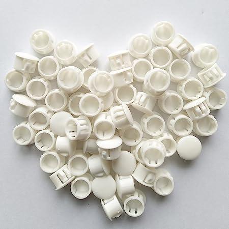 8 Pack White Window Frame Hole Plugs 3//8 Inch Plugs