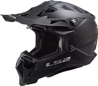 LS2 MX700 Subverter Evo Motocross Helm Schwarz Matt M 57/58