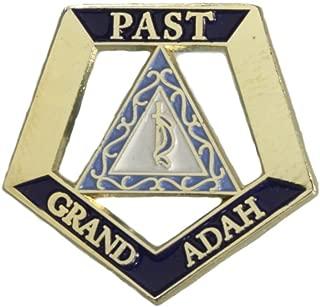 Hattricks Goodimpression OES Eastern Star Past Grand Adah One Inch Jewel Lapel Pin