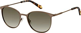 Fossil Women's 201801 Sunglasses, Color: Matt Brown, Size: 53
