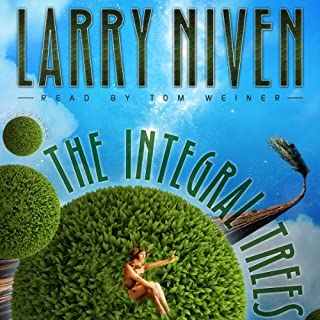The Integral Trees audiobook cover art