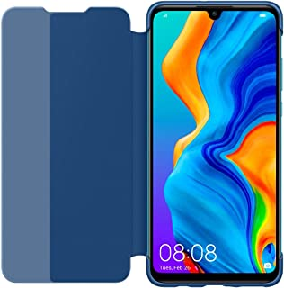 Huawei P30 Lite Smart View Flip Cover - Blue (Pack of 1)