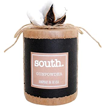 The South Candle - South - Gunpowder 14oz All Natural Soy Candle