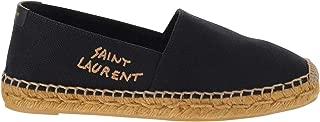 SAINT LAURENT Luxury Fashion Womens 6059561P2101000 Black Espadrilles | Spring Summer 20